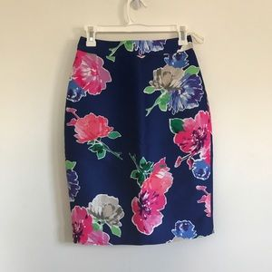 Kate Spade New York Blooms Pencil Skirt Sz 2